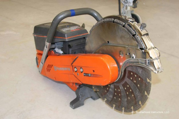 Husqvarna K760 Saw, Courtesy of Brotherhood Instructors