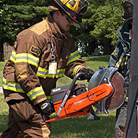 From the Archives: Changing the Drive Belt on a Husqvarna Cut Off Saw or Fire Rescue Saw