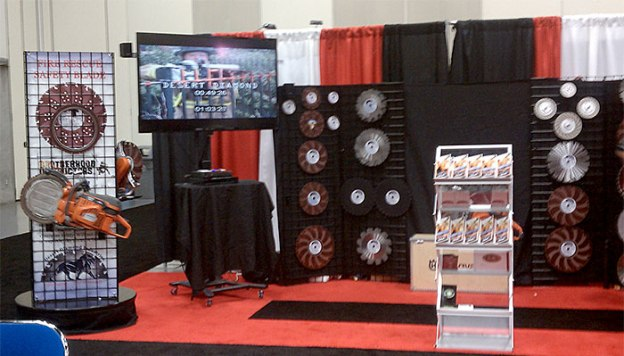Desert Diamond Industries' booth at Firehouse World 2013