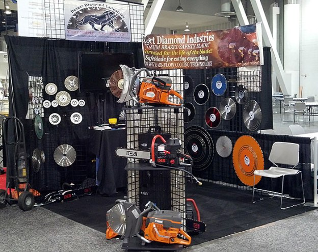 Desert Diamond Industries' Booth at World of Concrete 2013