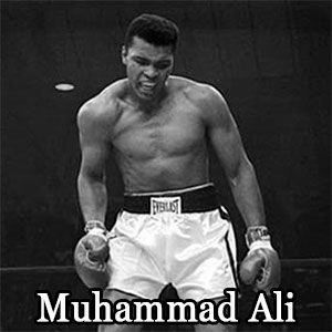 Muhammad Ali Quote from Desert Diamond Industries