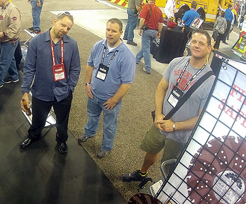 Glen Hellebrand with Customers at FDIC 2013