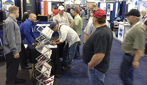 June 10, Getting Slammed at Desert Diamond Industries' Booth at ACE13