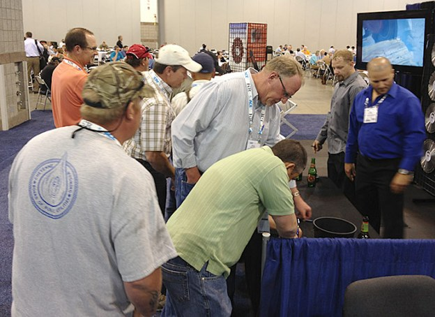 June 10, More Crowd at Desert Diamond Industries' Booth at ACE13