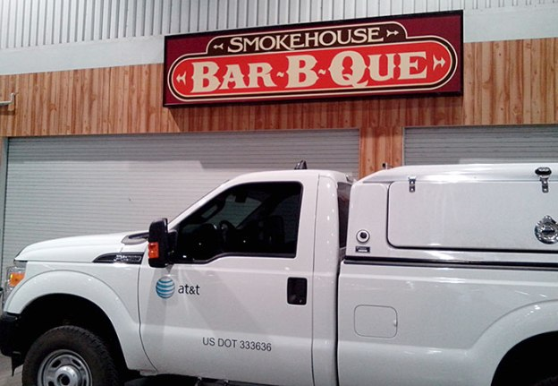 When Looking for Desert Diamond Industries at World of Concrete 2014, Look for Smokehouse BBQ