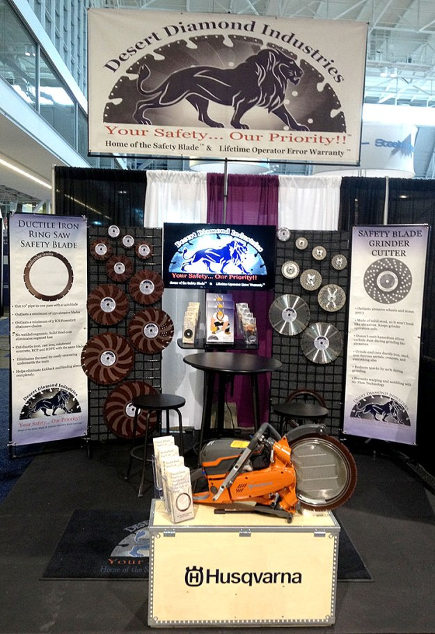 Desert Diamond Industries' Booth at ACE14, June 7